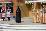 <p>Момент из театрализованного представления на открытии музея</p>
